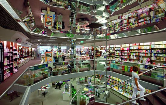 Buchhaus Stern-Verlag Lesebrunnen. The Largest bookstore in Germany, which is scheduled to shut down forever on 31 March, 2016