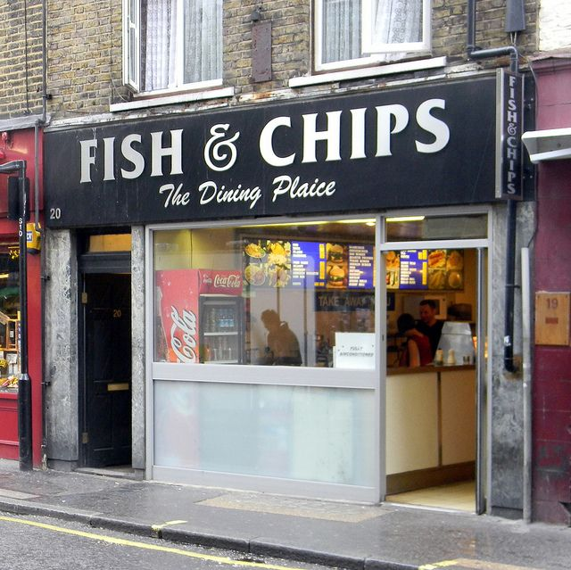 The Dining Plaice Fish and Chips Shop  Berwick Street Soho 5th September 2011