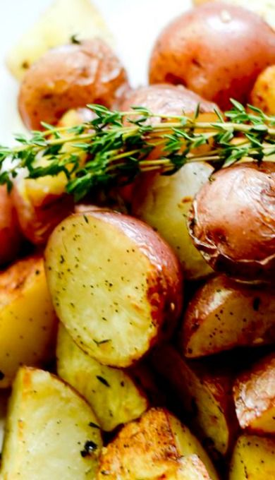 Ina Garten's Garlic Roasted Potatoes More