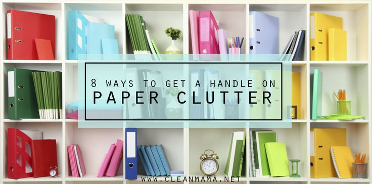 One tip to making your home run more smoothly? Plan for paper. Here's how.