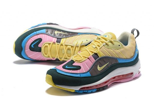 air max 98 rose jaune