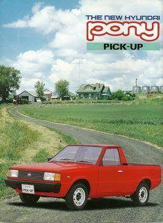 Happy #Throwback #Thursday! Check out this old Hyundai Pony Pick-up ... Yes Hyundai had a pick-up! #TBT #Hyundai