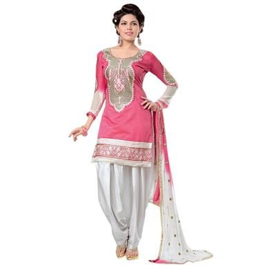 Saiveera Fashionable Pink Cotton Emboidered Unstiched Casual Salwar Suit/Dress Material Saiveera Fashion Is a Best Manufacturer, Exporter,Wholesaler, As well as Best and dealer,Retailar Of Designer,Embroidery Wedding Sari,Kids Lahenga Choli,Salwar Suit,Dress Material,etc.in surat Textile Market. Also Mainly Focus On Style,Choice,Fabric. So Saiveera Fashion Also Made Designer, Printed, Cotton,Fancy,Kurtis,Saree,Embroidery ,Wedding, Partywear,For More Query Please Call Or Whatsapp…