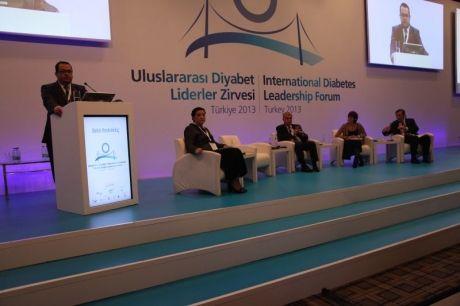 """""""15-16 Kasım 2013"""" Uluslararası Diyabet Liderler Zirvesi"""