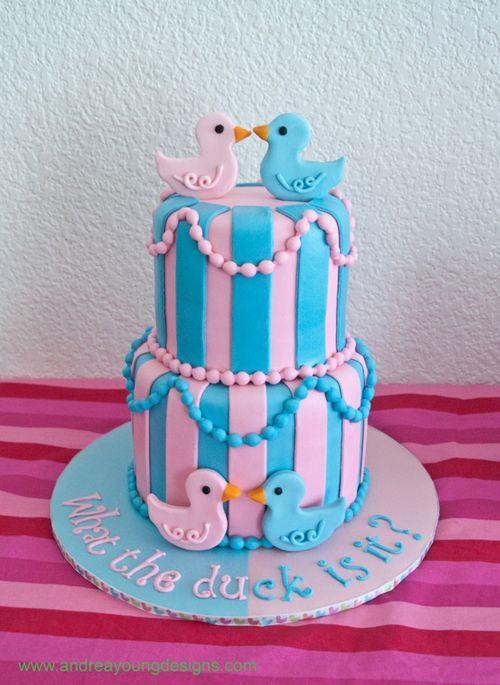Baby Shower Cake - My Cupcake Addiction - Elise Strachan