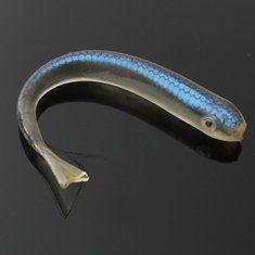 10 centímetros afundando iscas de pesca de silicone macio de pesca isca isca