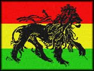 The Conquering Lion of the tribe of Judah. A Rastafarian symbol