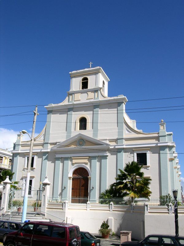 Cathedral of St. Phillip Apostle, Arecibo, Puerto Rico  This church is very important to me, because it was here where I married my best friend in 2006