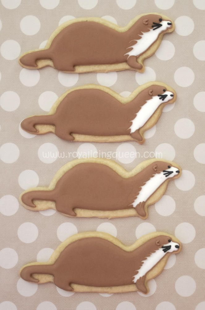 Sea Otter Cookies | Cookie Connection