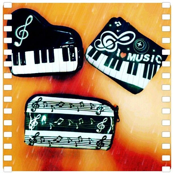 Cute piano pouch! #RhapsodieAccessories