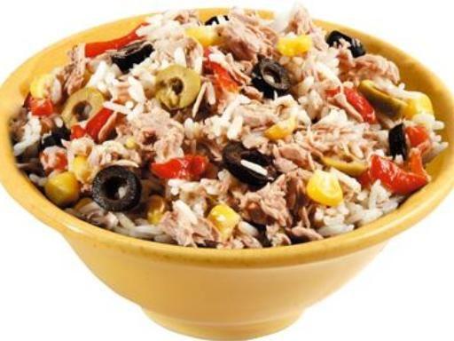 salade de riz niçoise - Recette de cuisine Marmiton : une recette