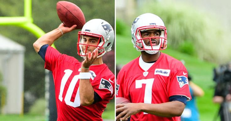 NFL Network's Mike Garafolo discusses the ongoing battle between Jimmy Garoppolo and Jacoby Brissett as the New England Patriots backup quarterback.