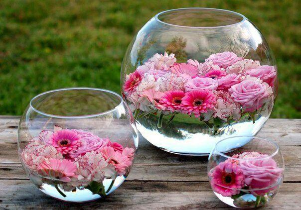 Плавающие цветы (Diy) / Цветы, вазы и цветочные горшки / ВТОРАЯ УЛИЦА
