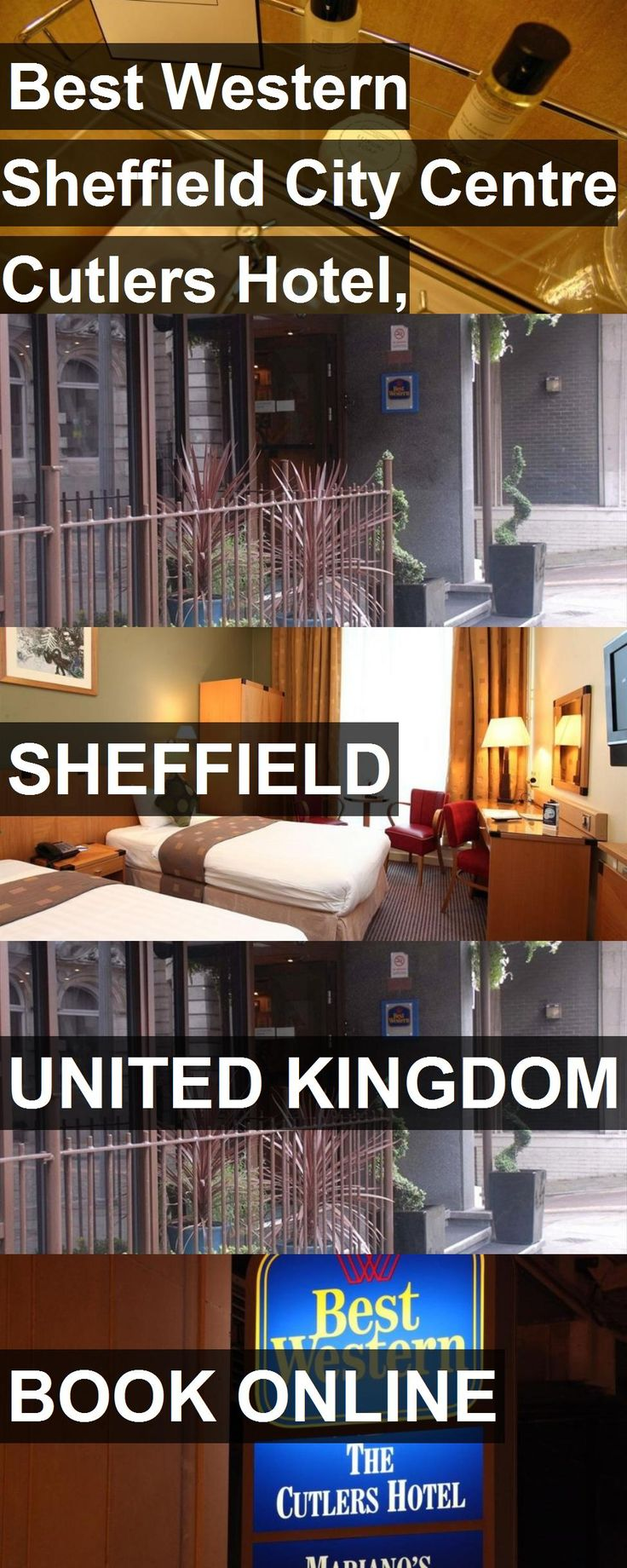 Best Western Sheffield City Centre Cutlers Hotel, Sheffield in Sheffield, United Kingdom. For more information, photos, reviews and best prices please follow the link. #UnitedKingdom #Sheffield #travel #vacation #hotel