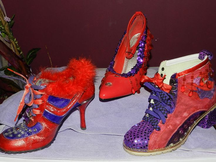 SHOES I DESIGNED FROM RECYCLED SHOES