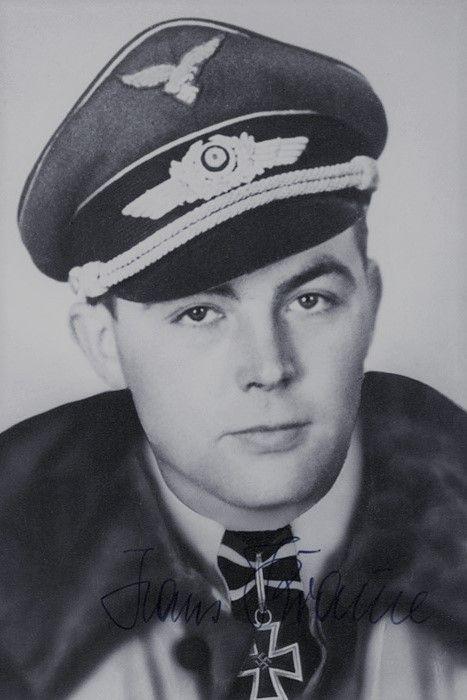 Hauptmann Johannes Krause (1920-2006), Kommandeur II./Nachtjagdgeschwader 101, Ritterkreuz 07.02.1945