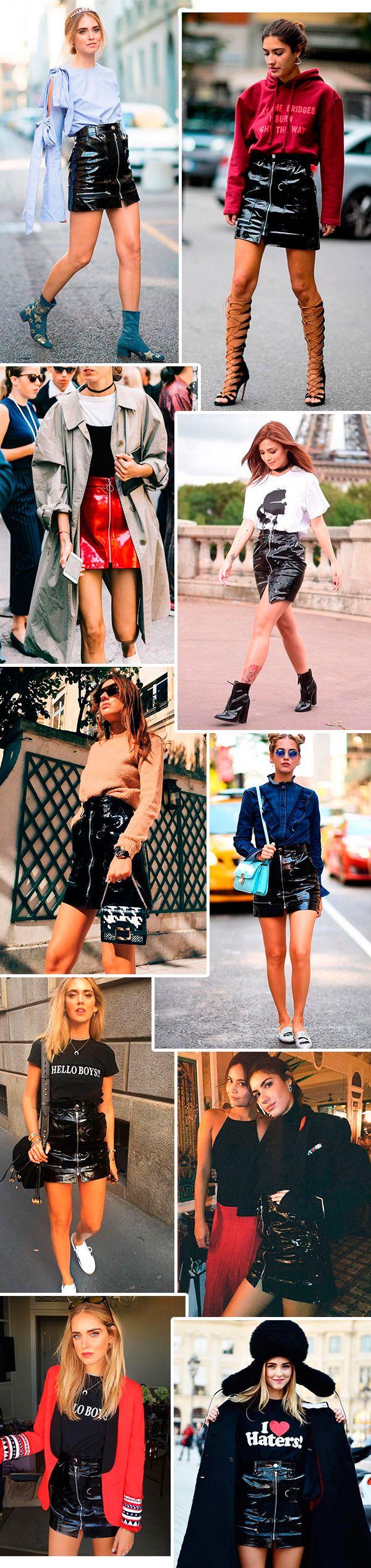 a saia da isabel marant que é tendencia no street style