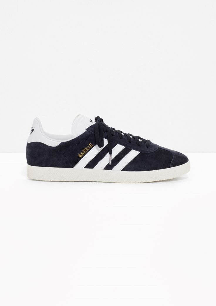 & Other Stories image 1 of adidas Gazelle in Black