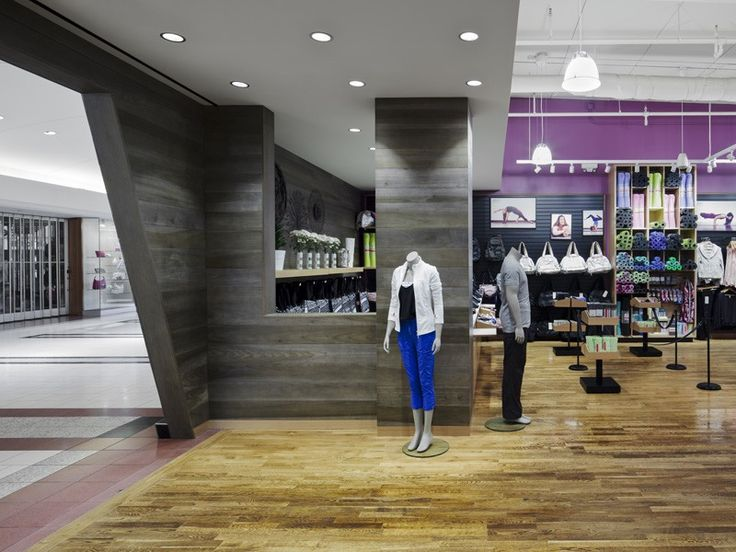 Lululemon Store in the Southgate Shopping Mall in Edmonton