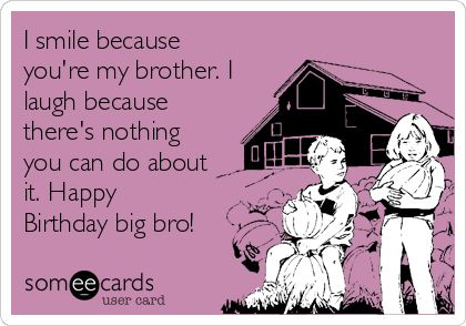 Search results for Happy Birthday Big Brother Images | imagebasket.net