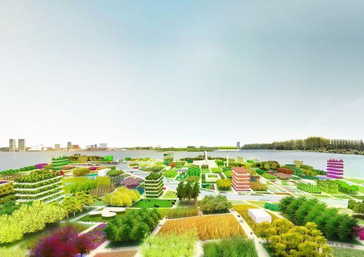 'floriade 2022' by MVRDV, almere, the netherlands: Mvrdv Floriade, Almere Floriade, Cities, Floriade 2022, Architecture, Landscape, Netherlands, 2022 Proposal