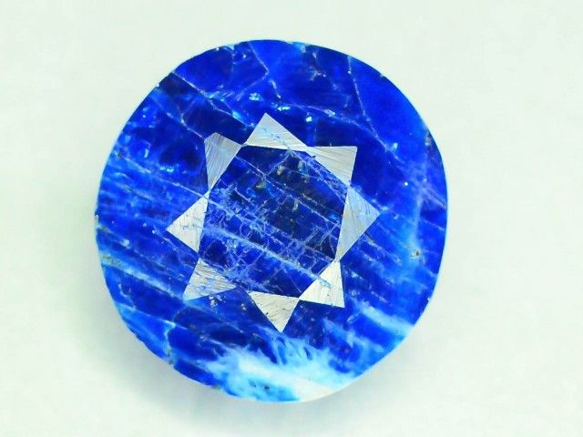 Rare 2.395 ct Natural Electric Blue Hauyne L.7 Collector's Gem