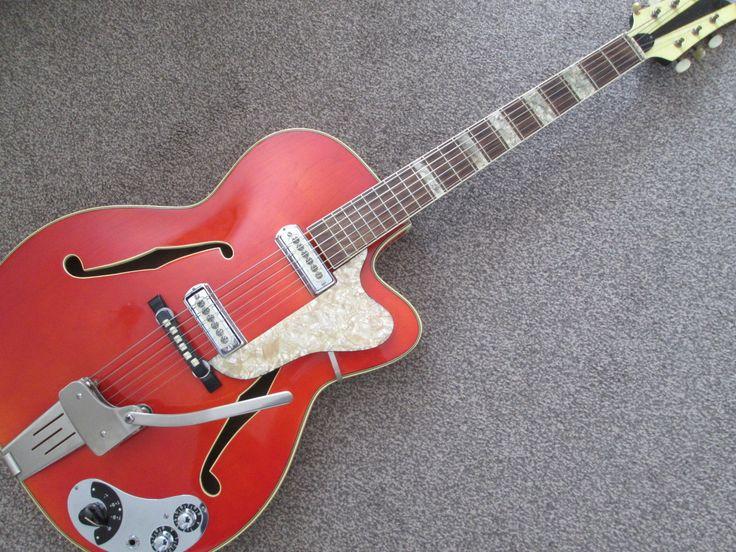 Klira Lady - vintage sixties semi acoustic guitar - made in Germany - very rare. in Musikinstrumente, Vintage Musikinstrumente, Vintage Gitarren & Bässe | eBay!