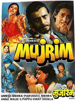 Mujrim Hindi Movie Online - Mithun Chakraborty, Madhuri Dixit, Nutan, Amrish Puri, Gulshan Grover, Shakti Kapoor and Suresh Oberoi. Directed by Umesh Mehra. Music by Anu Malik. 1989 [U] ENGLISH SUBTITLE