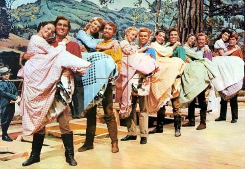 Seven Brides for Seven Brothers - I watched this on a regular basis when I was a little girl.