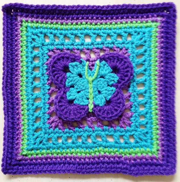 122 best images about mycrochet butterfly grannies on ...