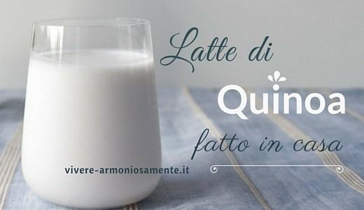 Il latte di quinoa fatto in casa è una delizia! Ecco la ricetta per fare il latte di quinoa denso, dolce e saporito. E' un latte vegetale ricco di proteine.