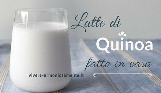 Il latte di quinoa fatto in casa è una delizia! Ecco la ricetta per fare il…