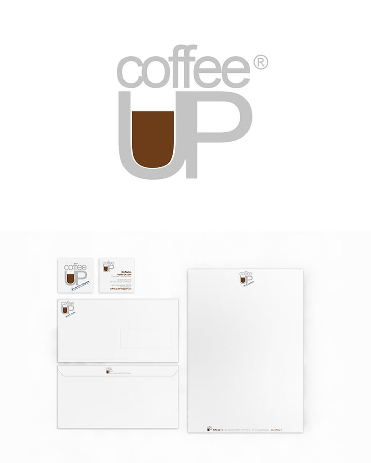 Coffee UP, Brand Design ─ Giulio Patrizi Design Agency ©    #brand #identity #corporate #coffee #graphic