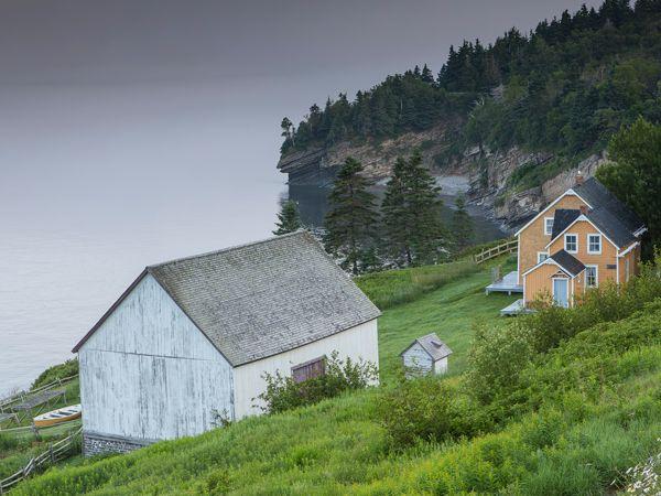 Blanchette ancestral house, Forillon National Park - Credit: Mathieu Dupuis