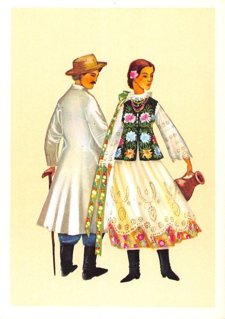 Poland Trachten Costume Polskie Stroje Ludowe Stroj Lancucki | eBay