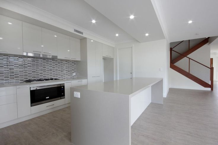 A beautiful bright kitchen by Highlife Homes.