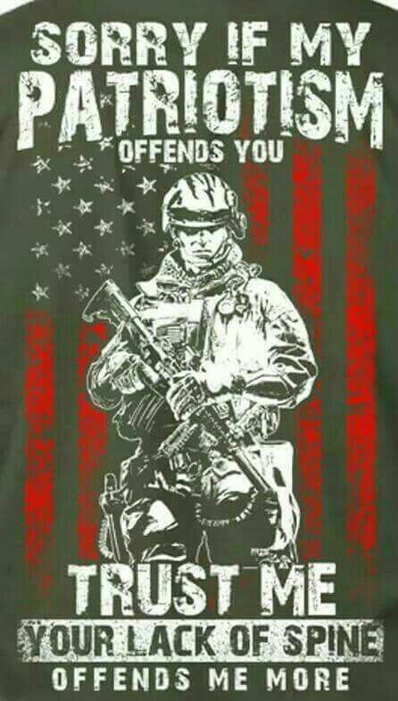 I will ALWAYS support our troops, Veterans, and the United States of America!