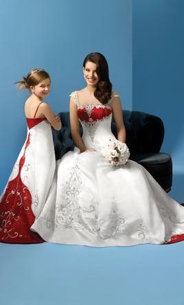 33 best Red Wedding Dresses images on Pinterest | Wedding dressses ...