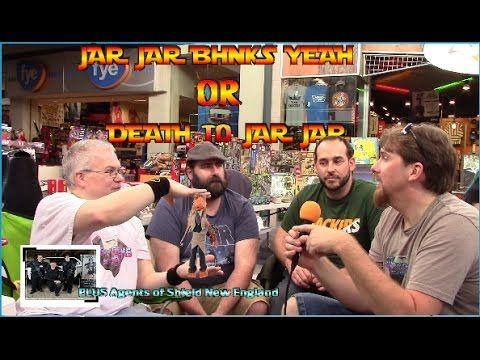 Jar Jar Binks yeah or DEATH TO JAR JAR