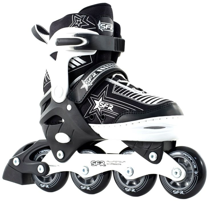 For those wanting to travel at lightspeed... Featuring a super light aluminium chassis and ABEC 7 bearings, the Pulsar skates as good as it looks! With the size adjuster, these skates are perfect for kids with growing feet. Semi Soft Adjustable Inline Skate, Push Button Adjuster, Low Profile Aluminium Chassis, ABEC 7 Bearings, PU Cast 82A Wheels Sizes 8-11: 64mm, 12-2: 70mm, 3-6: 72mm, TPR Stopper