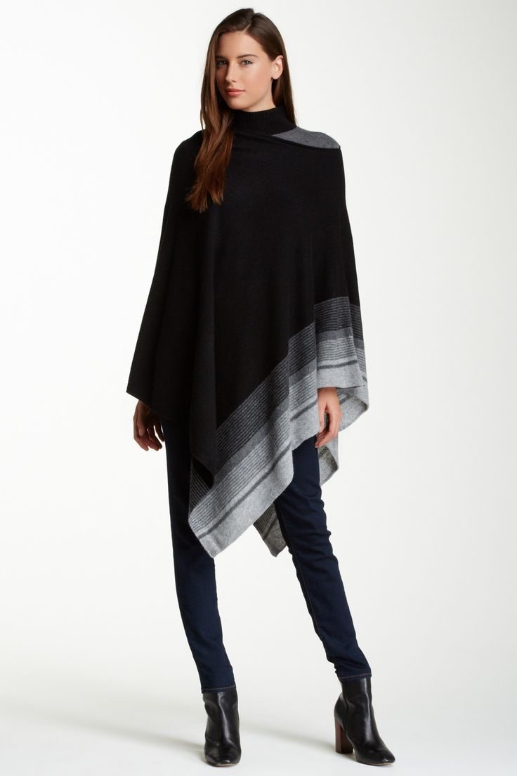 Cullen Cashmere Poncho by Cullen on @HauteLook