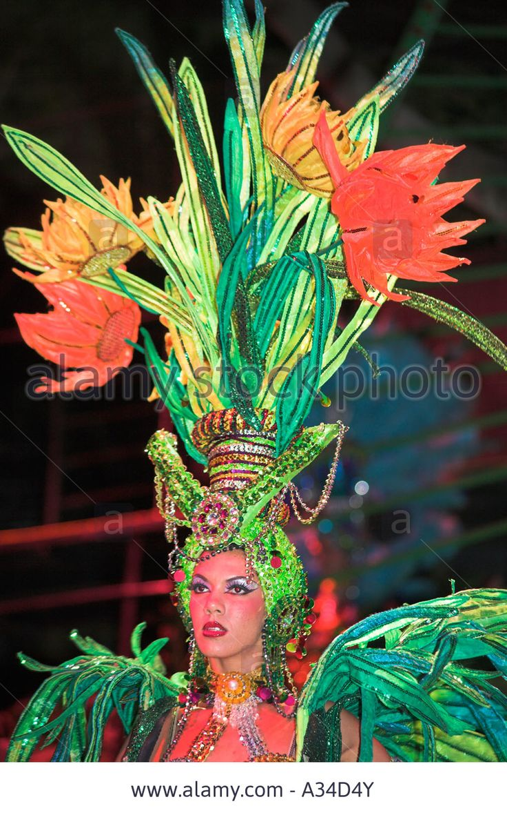 Dancer Performing At La Tropicana Nightclub, Havana, Cuba Stock Photo, Picture…