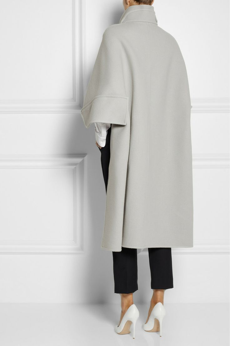 Chloé | Wool-blend felt cape | NET-A-PORTER.COM