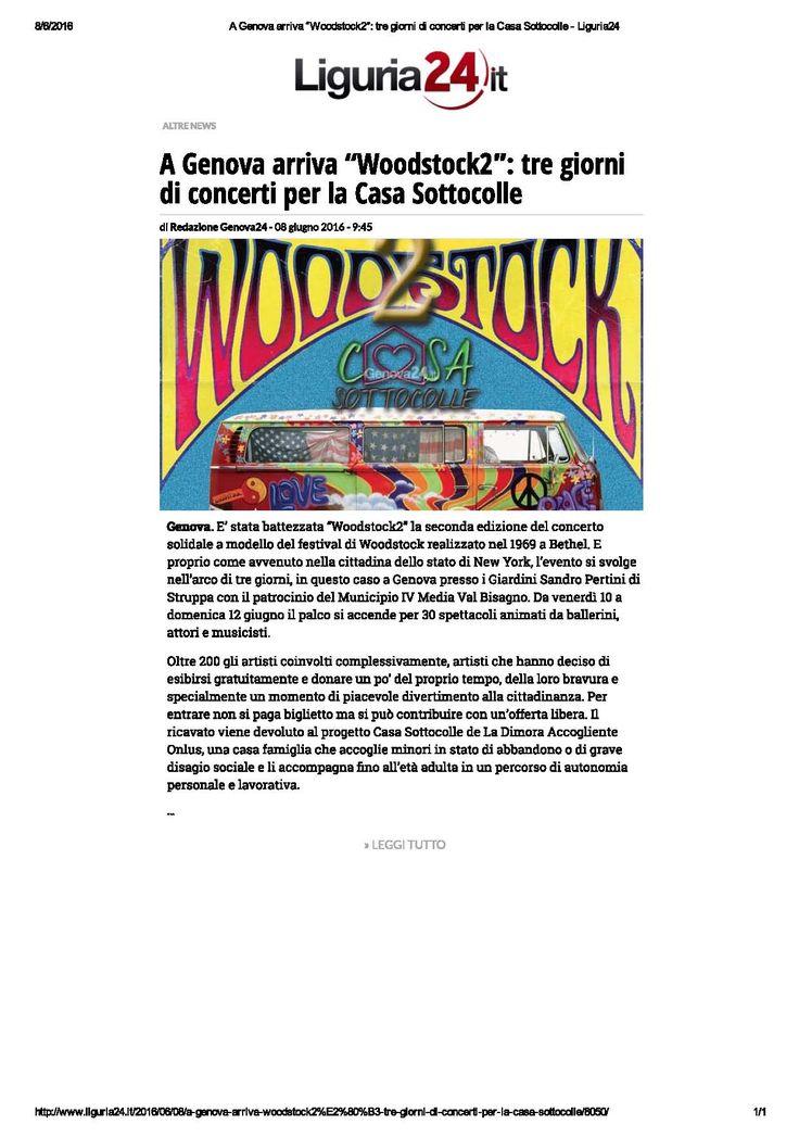 Liguria 24 - 8 giugno