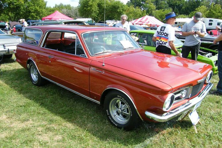 Check it out a 2 door valiant wagon.  Not factory!