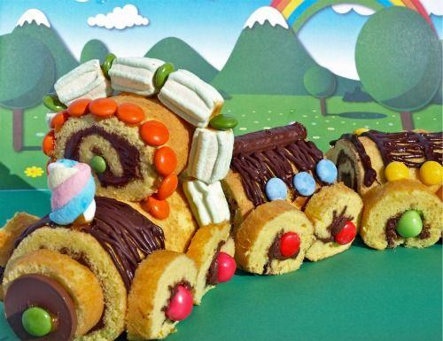 Come fare una torta decorata veloce come....un treno!