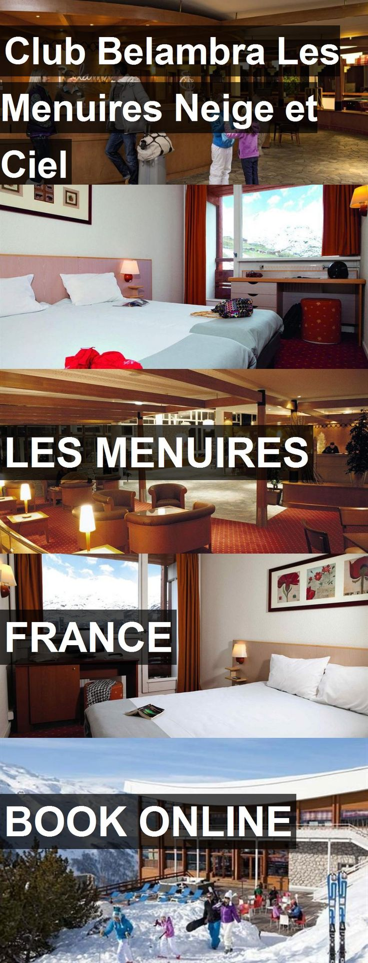Hotel Club Belambra Les Menuires Neige et Ciel in Les Menuires, France. For more information, photos, reviews and best prices please follow the link. #France #LesMenuires #travel #vacation #hotel
