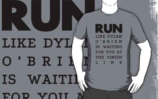 The only reason to run. Shirt from redbubble.