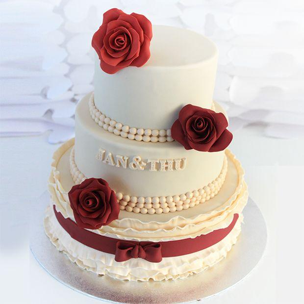 wedding cake  www.lepetitbiscuit.nl