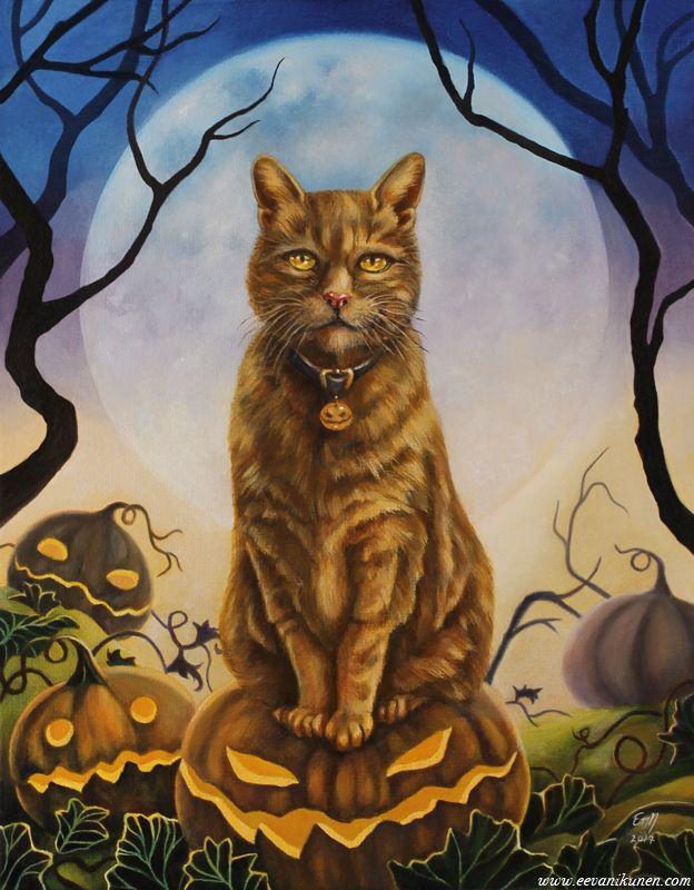 'Mortimer'. Oil painting by Eeva Nikunen. www.eevanikunen.com